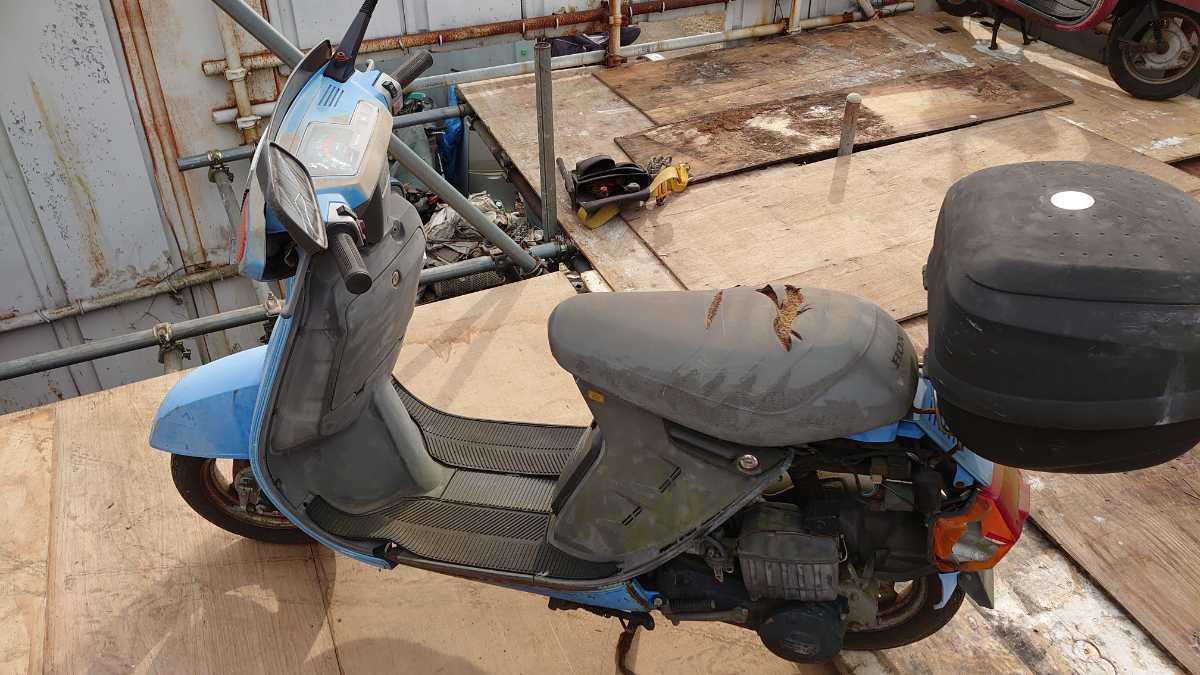 「HONDA リ-ド 部品取り車」の画像2