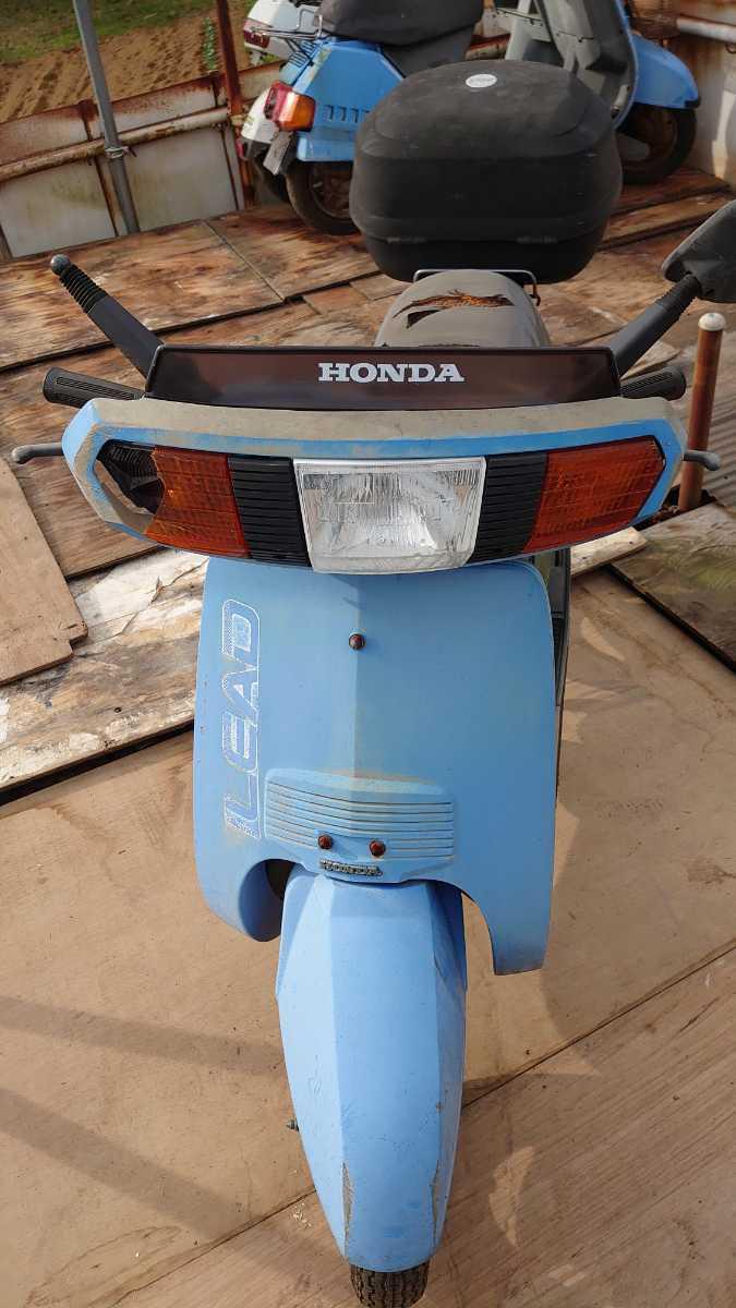 HONDA リ-ド 部品取り車_画像4