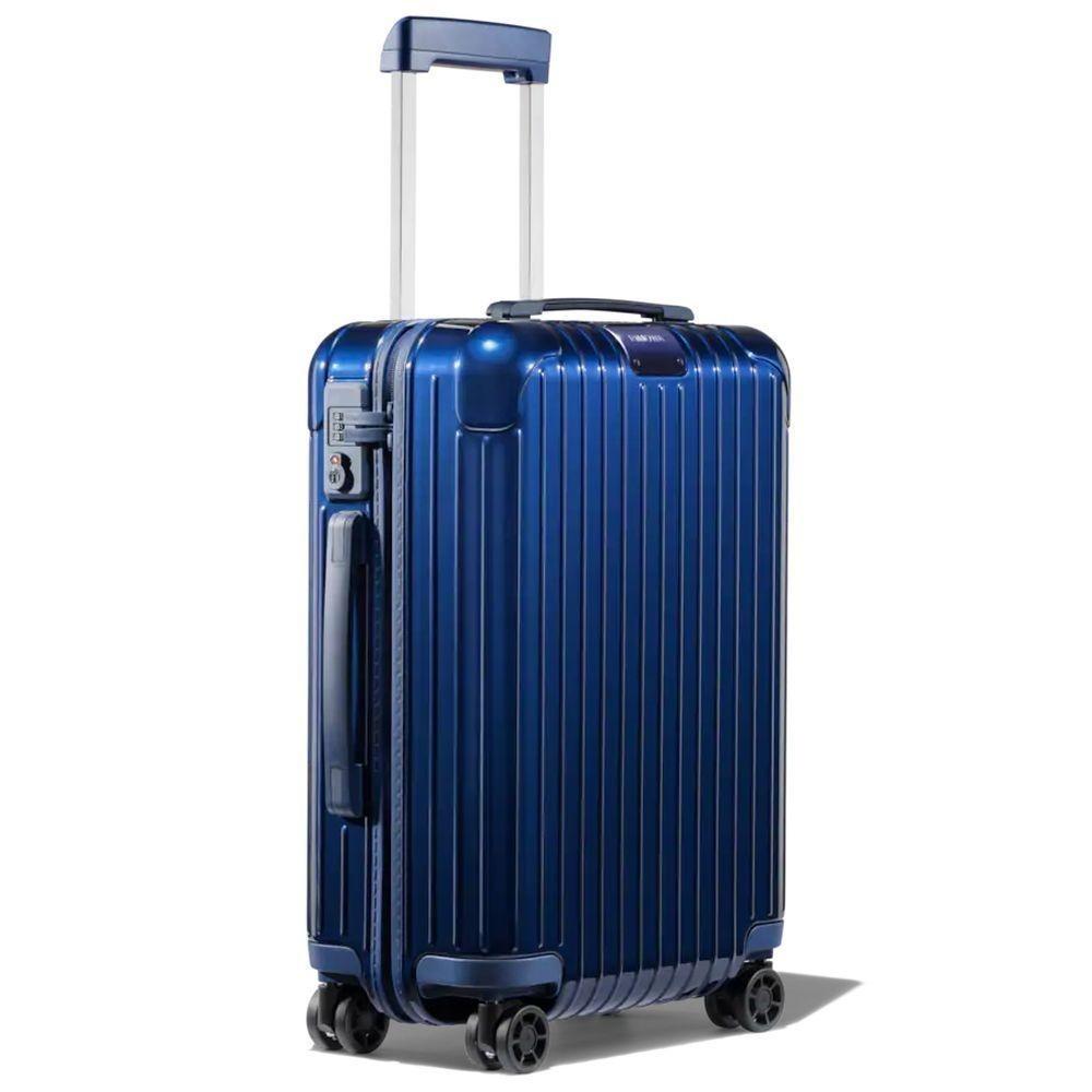 アウトレット新品 未使用 1円~ RIMOWA リモワ Essential Cabin S エッセンシャル キャビン 4輪スーツケース キャリーケース 832.52.60.4 青_画像2