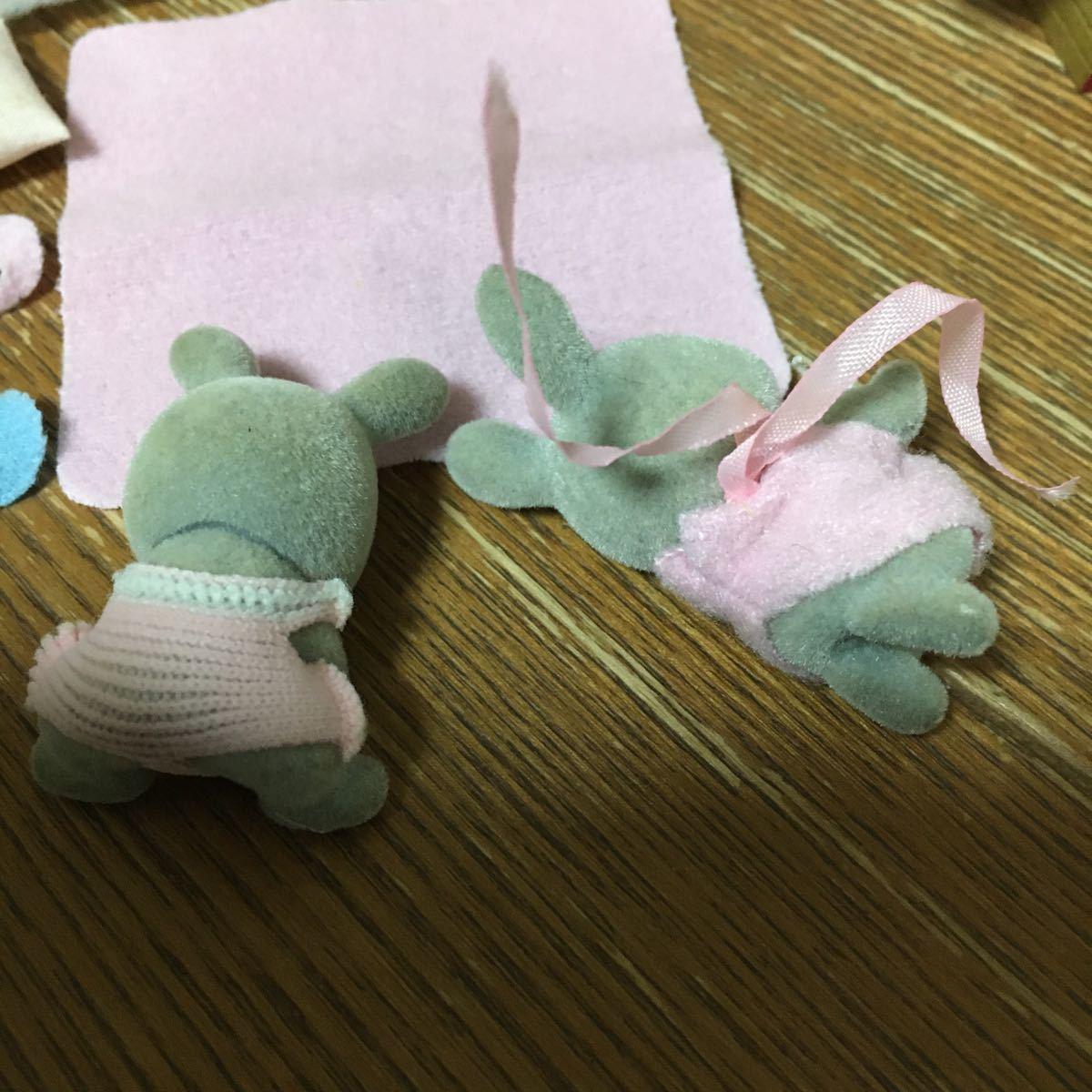 シルバニアファミリー ベビー家具セット 双子 赤ちゃん グレー_画像3