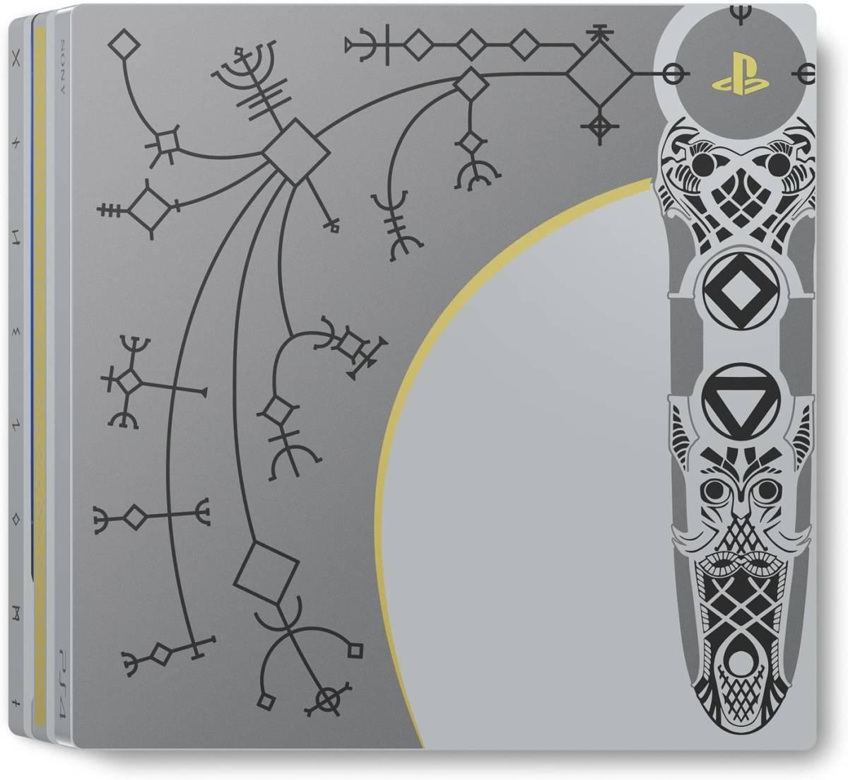 即決 送料込み■限定PS4 Pro本体 内蔵SSD 1TB換装済 PlayStation 4 Pro GOD OF WAR リミテッドエディション ゴッド・オブ・ウォー