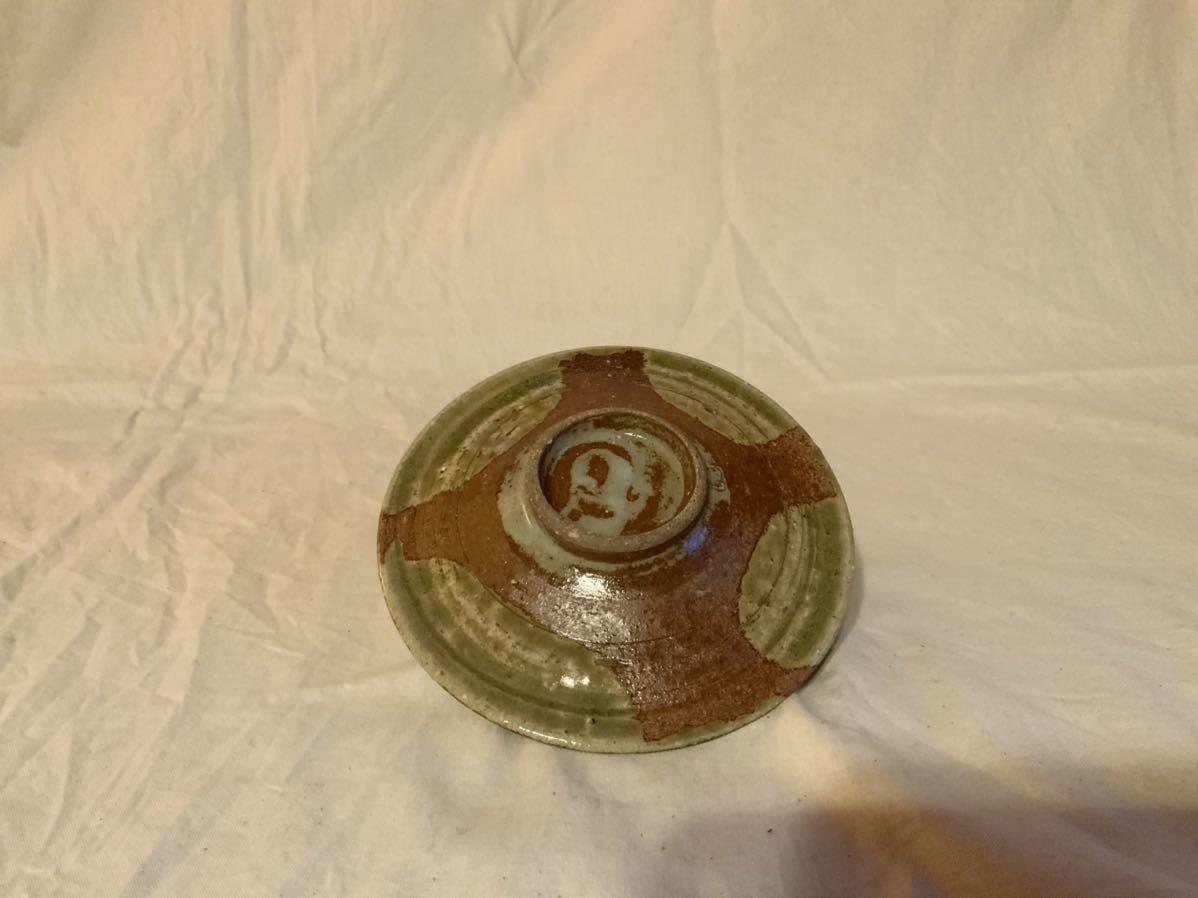 17 陶芸 陶器 黄瀬戸焼き カップ&ソーサー お茶 平皿 コーヒーカップ マグカップ オブジェ インテリア 手作りカップ&ソーサ_画像7