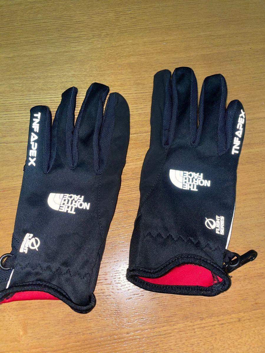 ノースフェイス 手袋 グローブ ランニング、ウォーキング、スポーツやアウトドア用に超美品