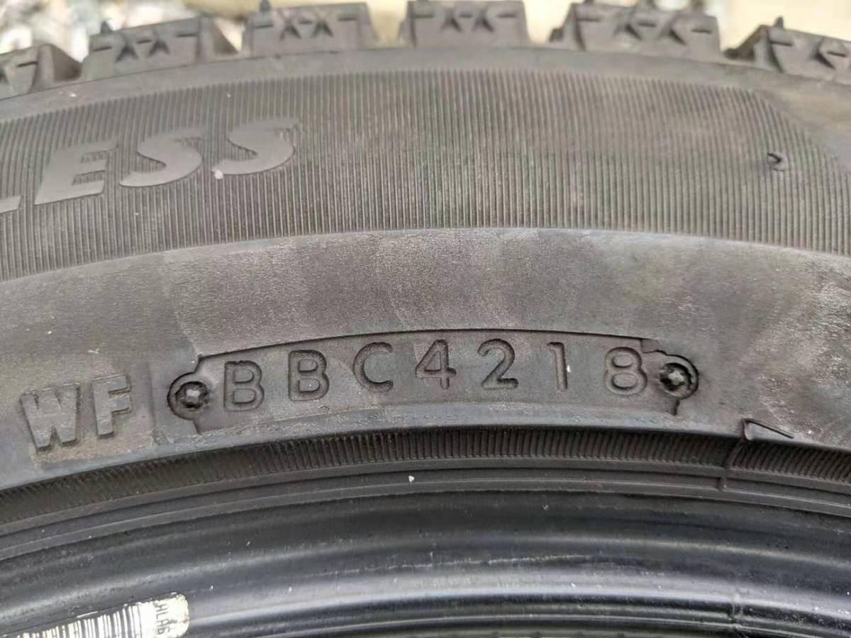 ブリヂストン ブリザックVRX2 18インチ スタッドレスタイヤ BRIDGESTONE BLIZZAK VRX2 255/45R18 冬タイヤ4本セット_画像4