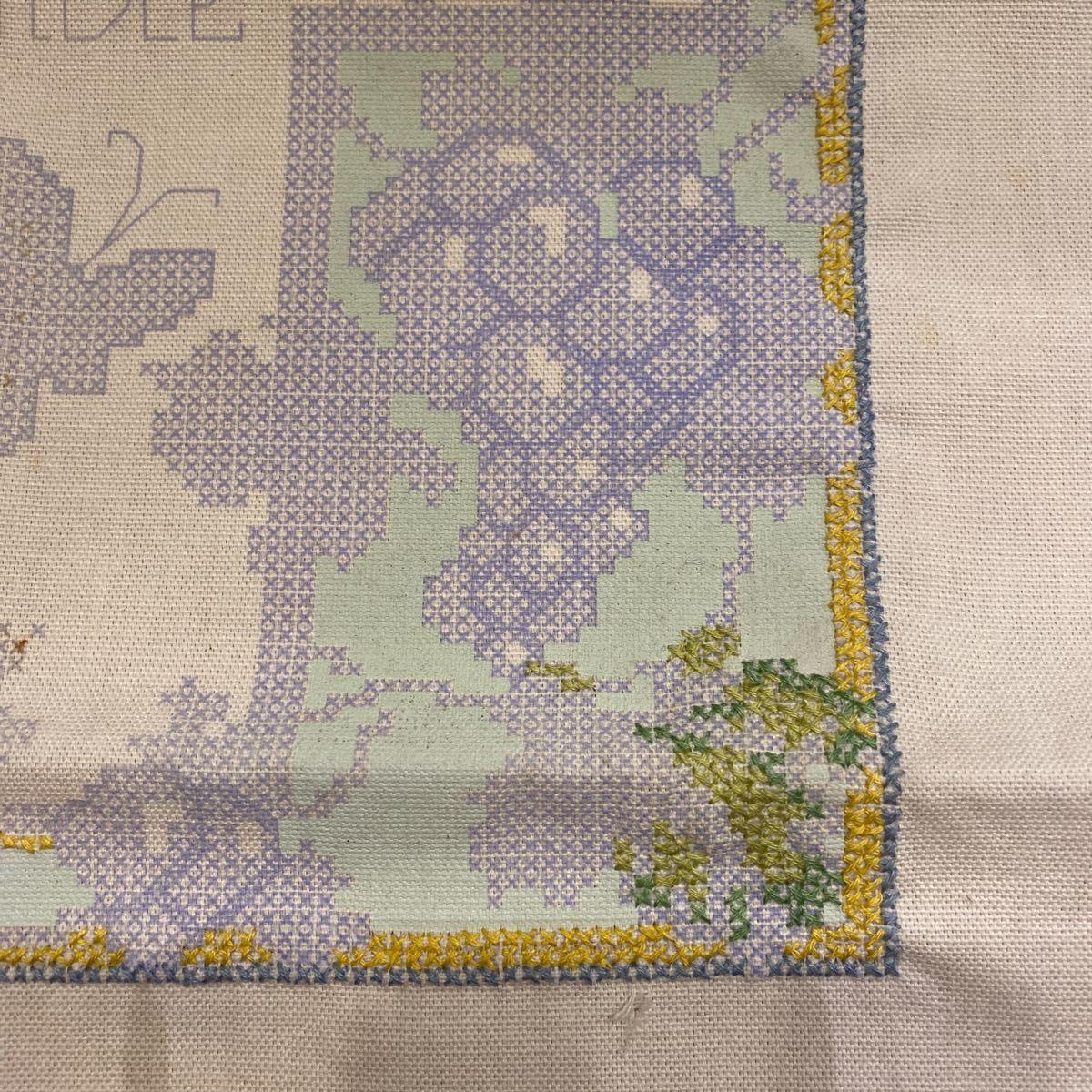 クロスステッチキット 刺繍キット 図案 アメリカで購入 ハンドメイド