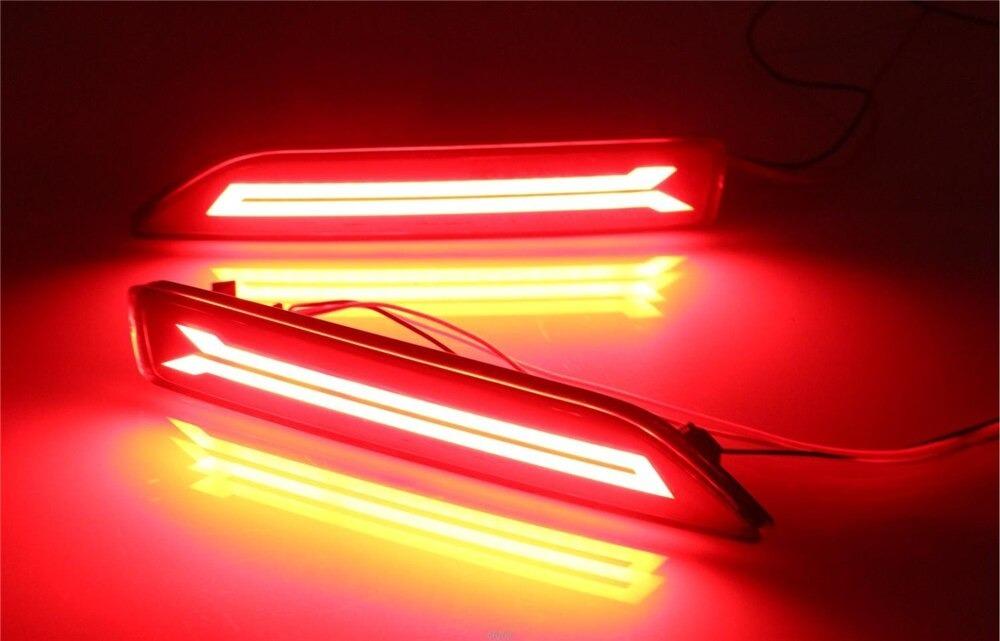 送料無料! 流れるウインカー ファイバー LED リフレクター シーケンシャル スモーク ホンダ  VER.2_画像1