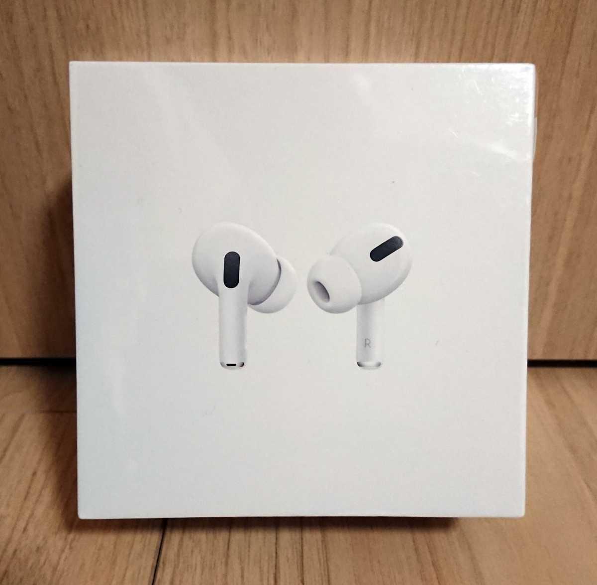 【送料無料】 アップル Apple AirPods Pro (エアーポッズプロ) ワイヤレスヘッドフォン MWP22J/A 【新品未開封】_画像3