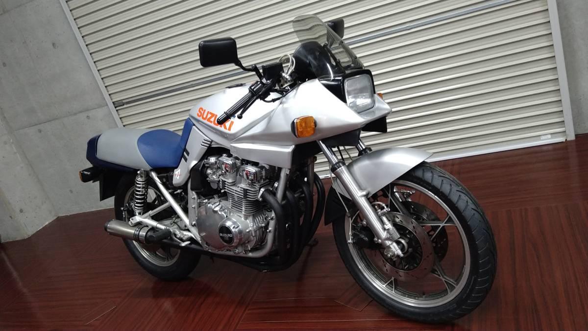 「スズキ 刀 GSX750S カタナ ★エンジンバフ掛け きれいな車両です ★タイヤ・チェーン・スプロケット新品 検切れ」の画像2
