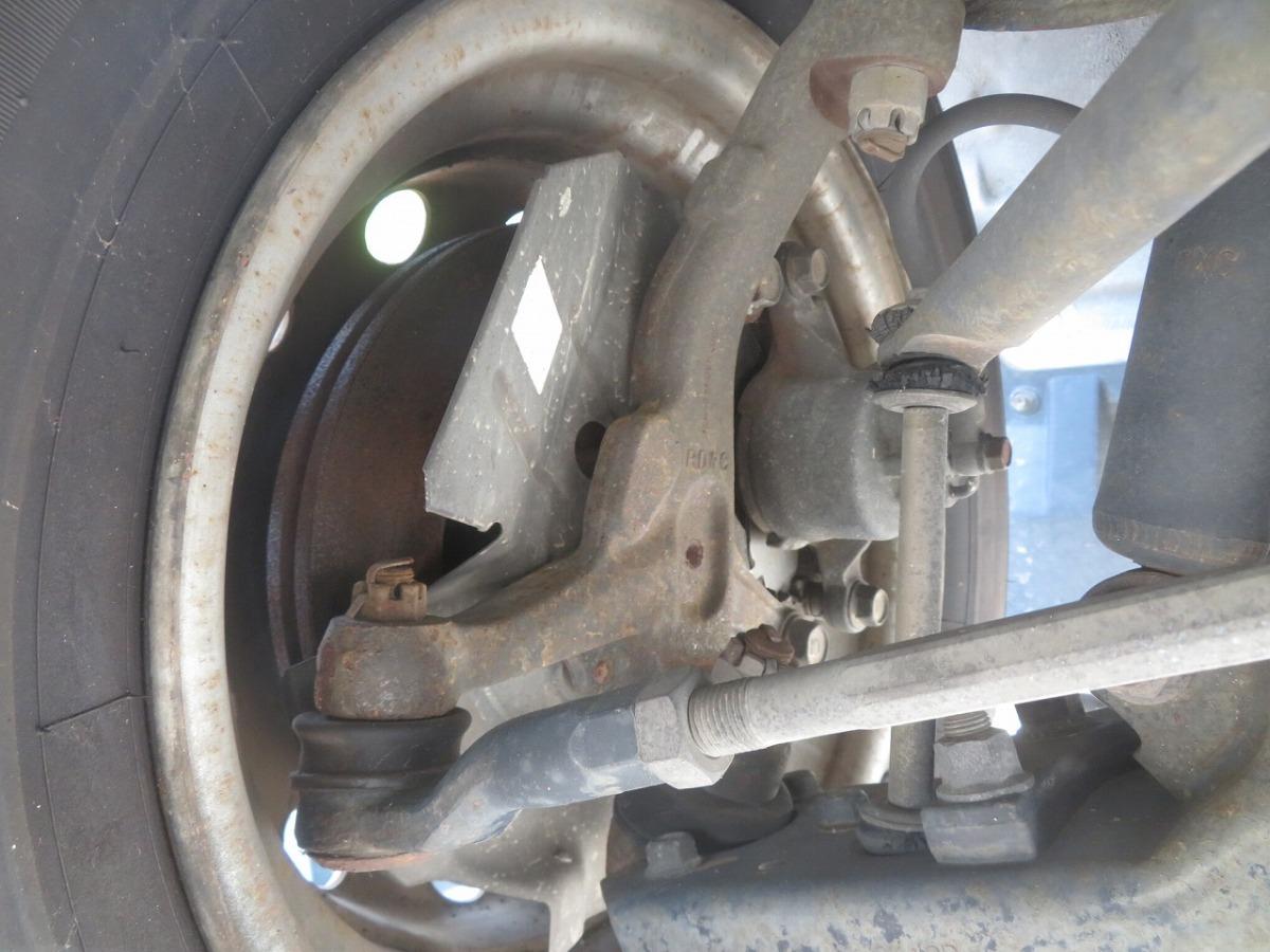 H15 バネット SK82VN 2WD 右フロント足回り/右F足周り/ハブ/ナックル/ローター/キャリパー_画像1