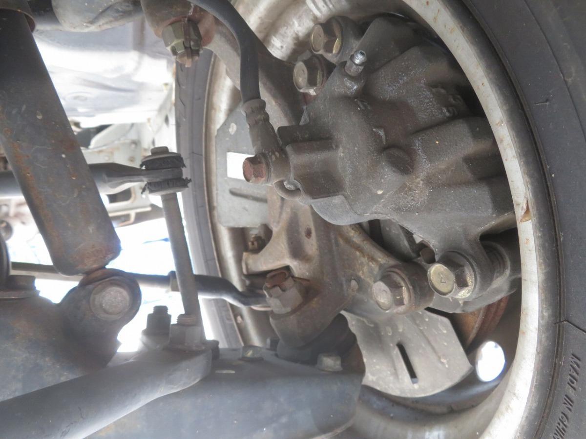 H15 バネット SK82VN 2WD 右フロント足回り/右F足周り/ハブ/ナックル/ローター/キャリパー_画像2