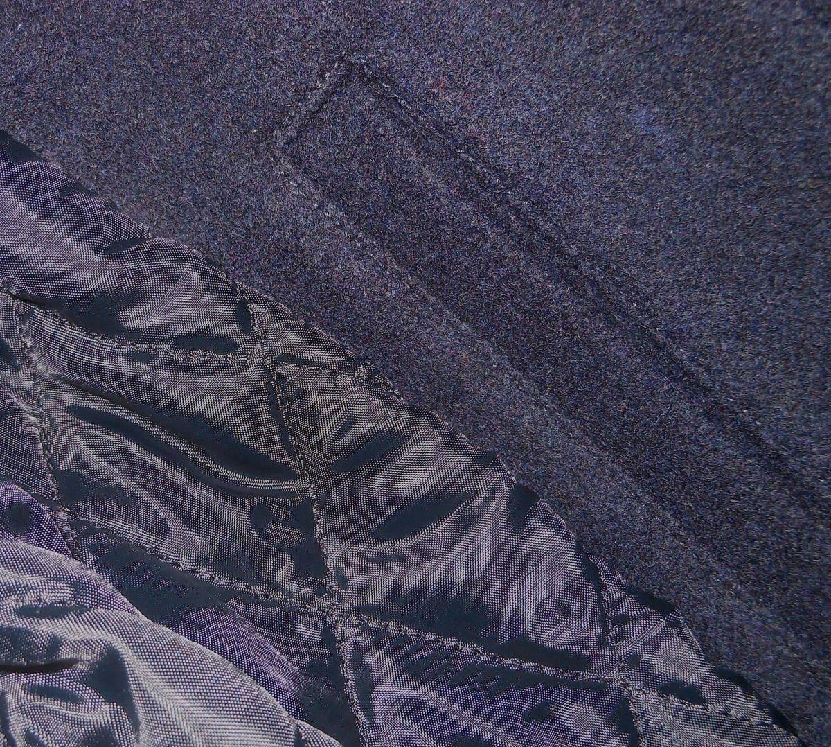 新品★フェローズ PHERROW'S 袖レザー スタジャン スタジアムジャンパー Navy 40サイズ 定価:¥51,700円_画像10