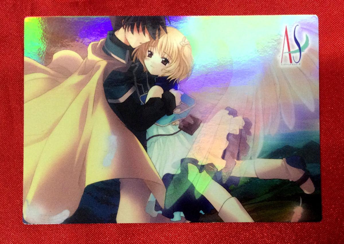 AS~エンジェリックセレナーデ トレーディングカード プロモーションカード 非売品 当時モノ 希少 A3050_画像1