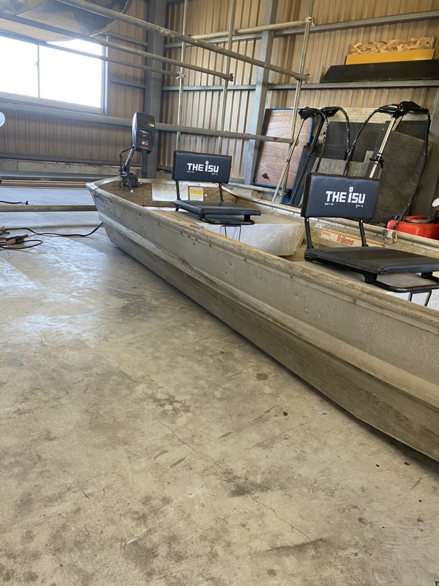 「免許不要 ジョンボート ランドゥー 1044f トッパースタイル アルミボート」の画像3