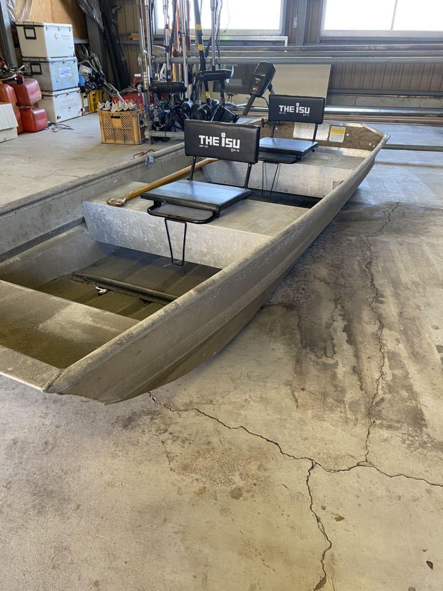「免許不要 ジョンボート ランドゥー 1044f トッパースタイル アルミボート」の画像2