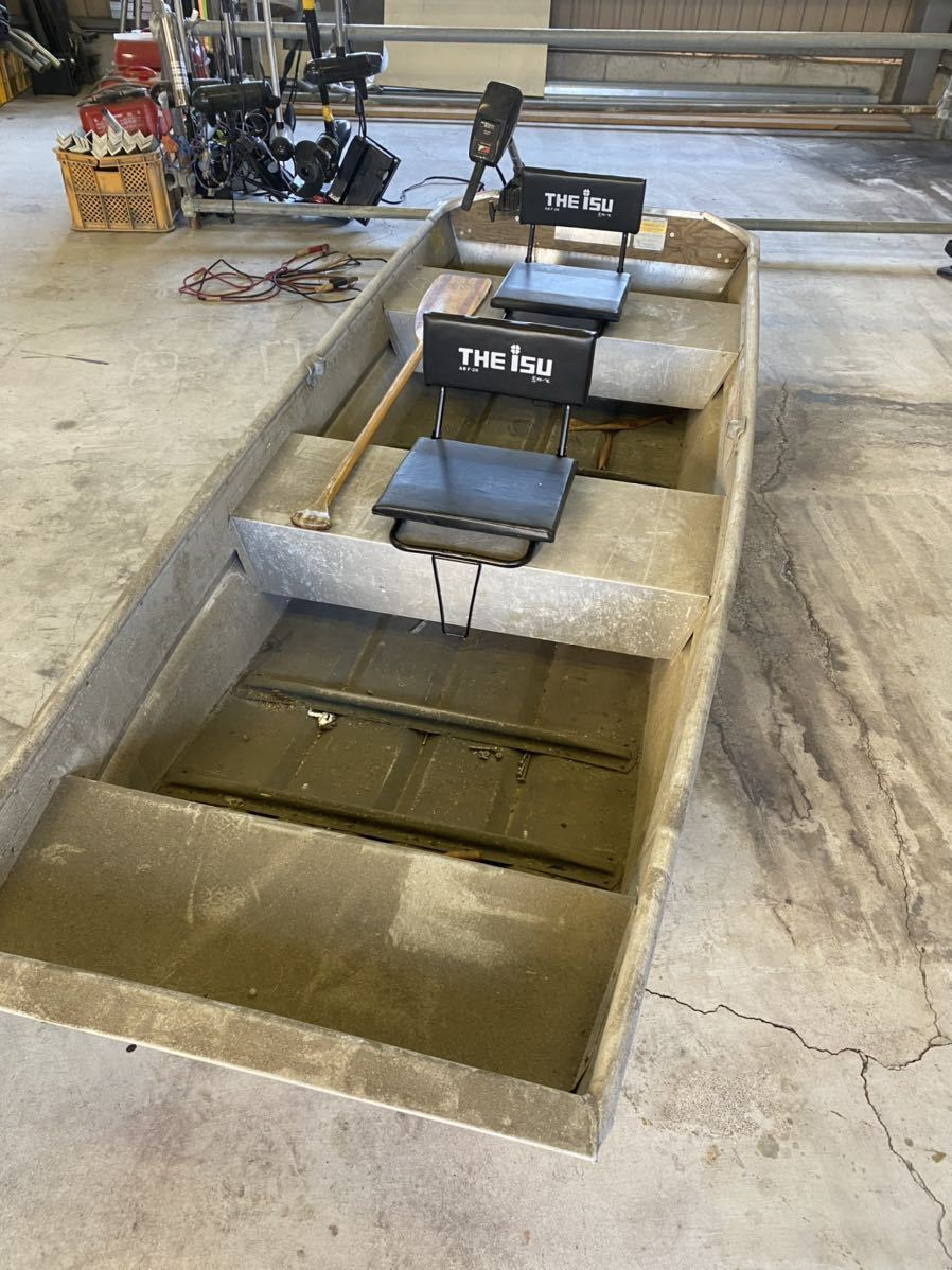 「免許不要 ジョンボート ランドゥー 1044f トッパースタイル アルミボート」の画像1