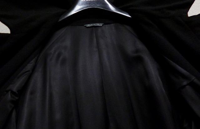 【段違い!】40万! ☆FENDI☆フェンディ 完全最高級ブラックカシミヤコート! 圧倒的高級感! 別格別級! 完全最高! これ以上なし! 超美品!_画像4