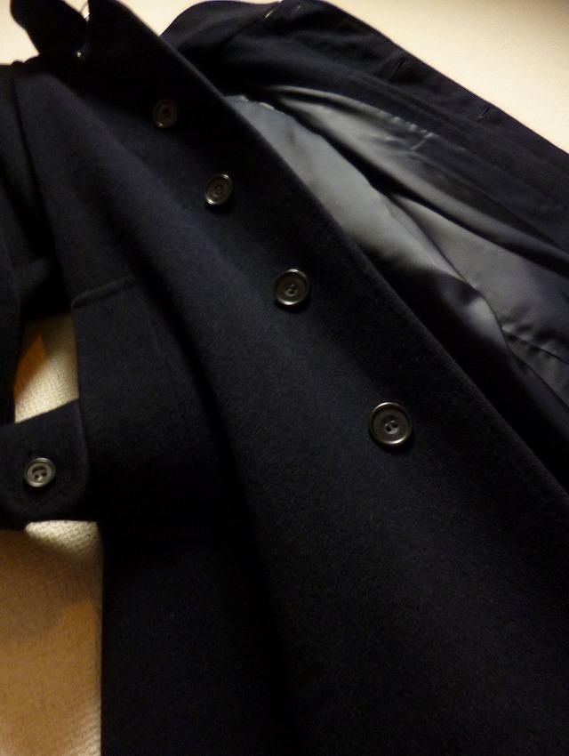 【頂点頂上!】25万! 極美! ☆DAKS LONDON☆完全最高級カシミヤコート! 圧倒的高級感! 超高級優雅! 極上カシミヤ! 最良ブラック! 超美品!_画像2