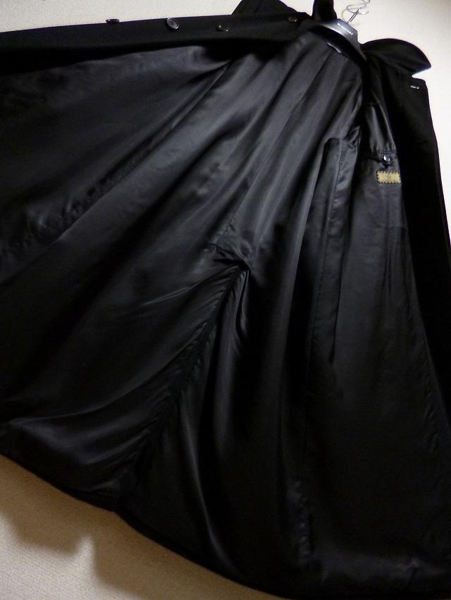 【段違い!】40万! ☆FENDI☆フェンディ 完全最高級ブラックカシミヤコート! 圧倒的高級感! 別格別級! 完全最高! これ以上なし! 超美品!_画像5