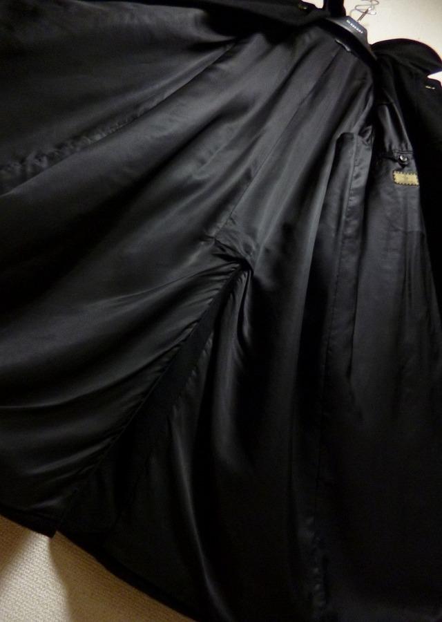 【段違い!】40万! ☆FENDI☆フェンディ 完全最高級ブラックカシミヤコート! 圧倒的高級感! 別格別級! 完全最高! これ以上なし! 超美品!_画像9