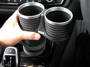 【ALCABO/アルカボ】 ドリンクホルダー ブラック カップ タイプ BMW 3 Series F30/F30AH/F31/F34/F80 [AL-B111B]_画像3