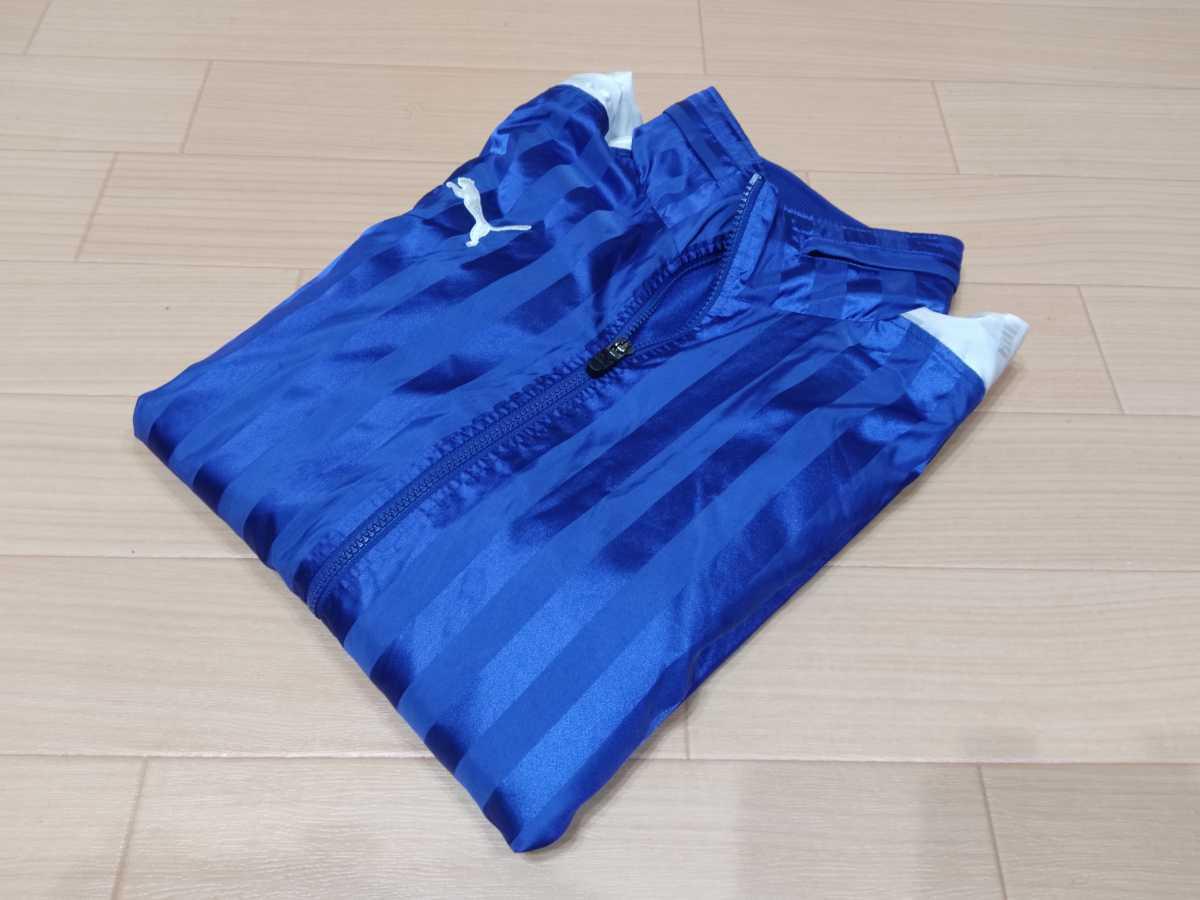 プーマ PUMA - サッカー 普段着 USED美品 トップ ウィンドブレーカー 普段着 SIZE:L カラー:青系 高機能高デザイン_画像6