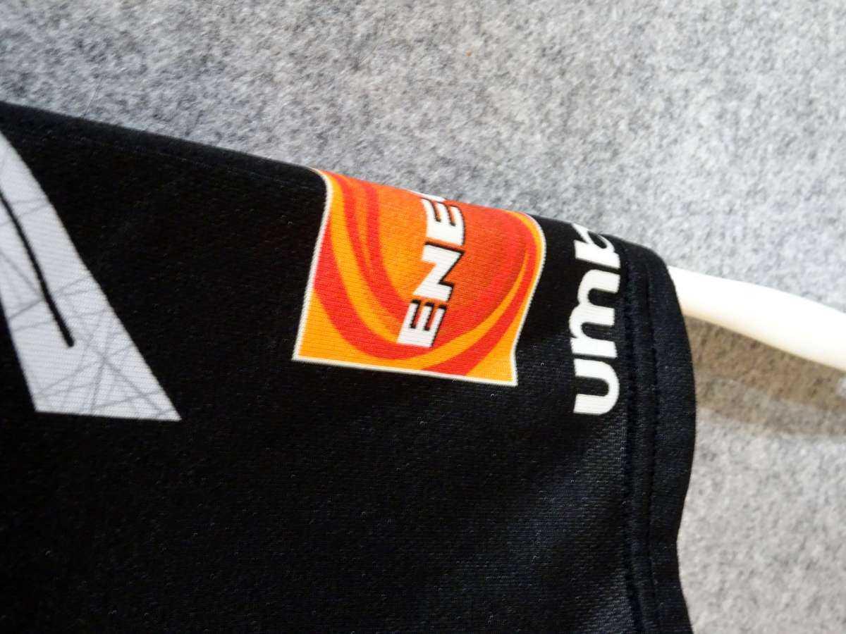 アンブロ UMBRO - サッカー FC東京 USED美品 半袖 ユニフォーム プラクティスシャツ SIZE:120 カラー:黒系 高機能高デザイン_画像9