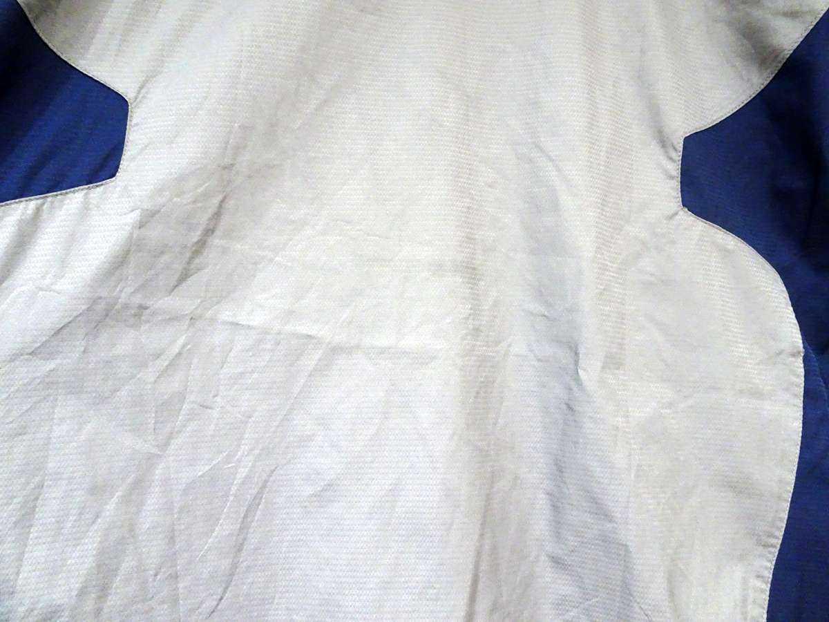 プーマ PUMA - サッカー フットサル USED傷あり 長袖 一枚生地ピステ 練習着 SIZE:XO カラー:グレー系 かっこいい!_画像6