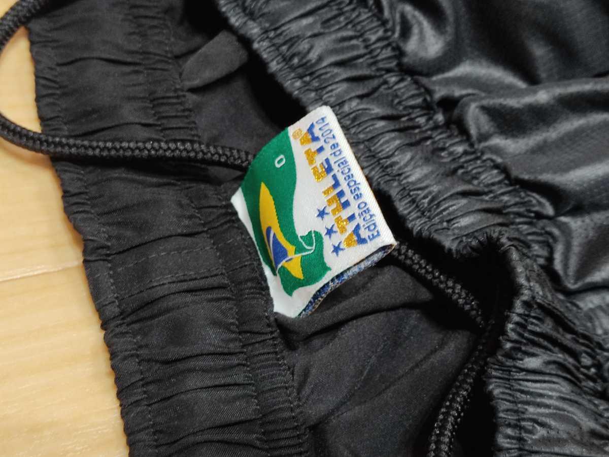 アスレタ ATHLETA - フットサル サッカー USED傷あり ボトムス 一枚生地ピステ 練習着 SIZE:O カラー:黒系 高機能高デザイン_画像5