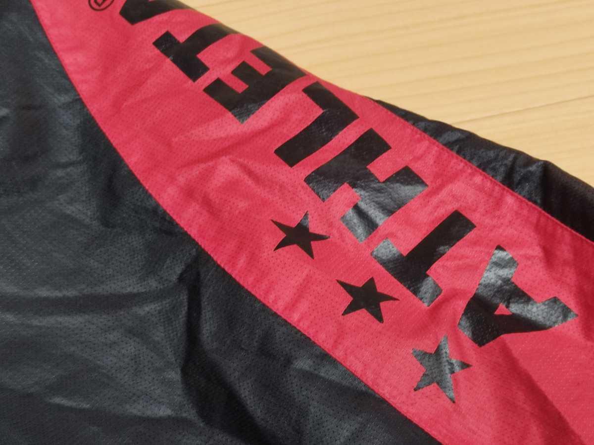 アスレタ ATHLETA - フットサル サッカー USED傷あり ボトムス 一枚生地ピステ 練習着 SIZE:O カラー:黒系 高機能高デザイン_画像3