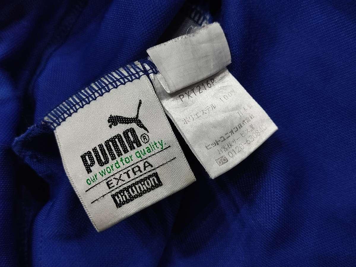 プーマ PUMA - サッカー フットサル USED ボトムス ジャージ ボトムス SIZE:M カラー:青系 高機能高デザイン_画像8