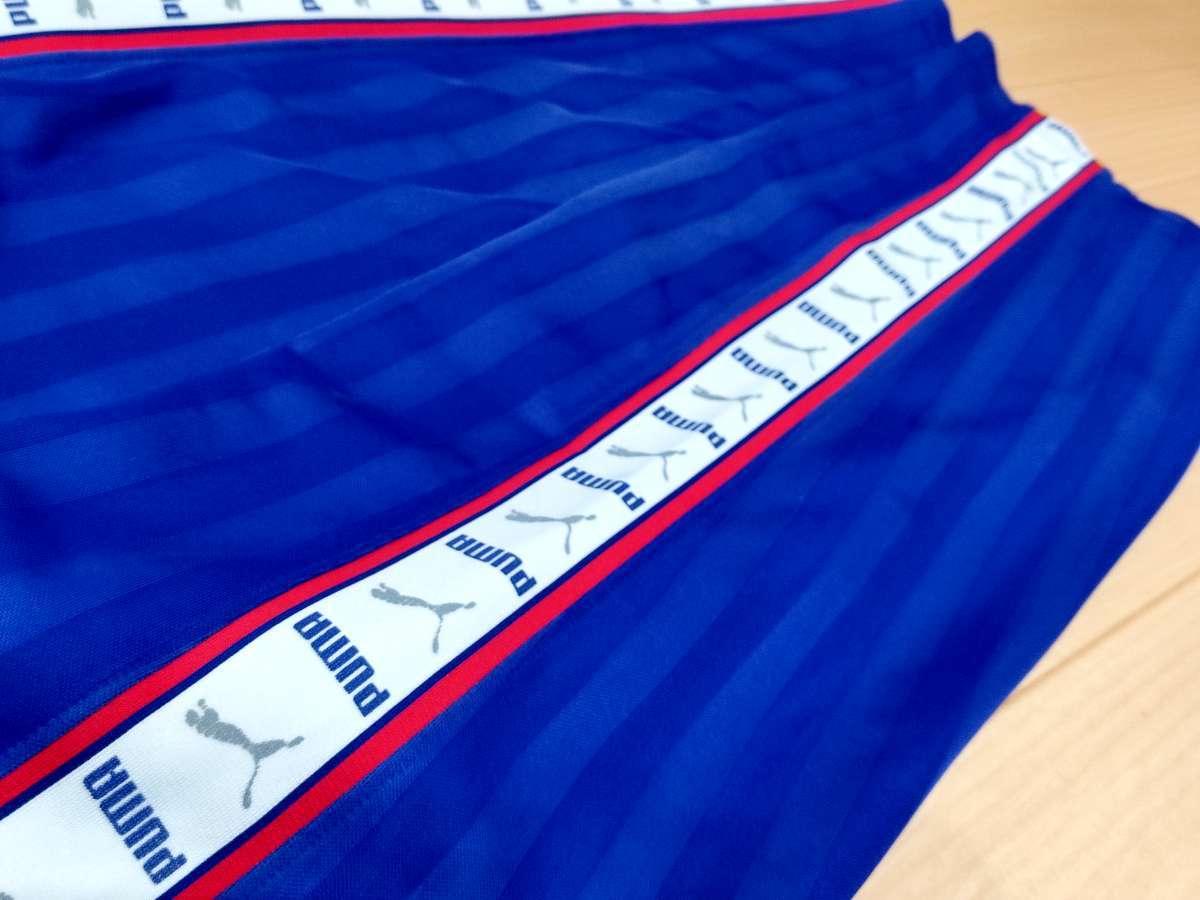 プーマ PUMA - サッカー フットサル USED ボトムス ジャージ ボトムス SIZE:M カラー:青系 高機能高デザイン_画像4