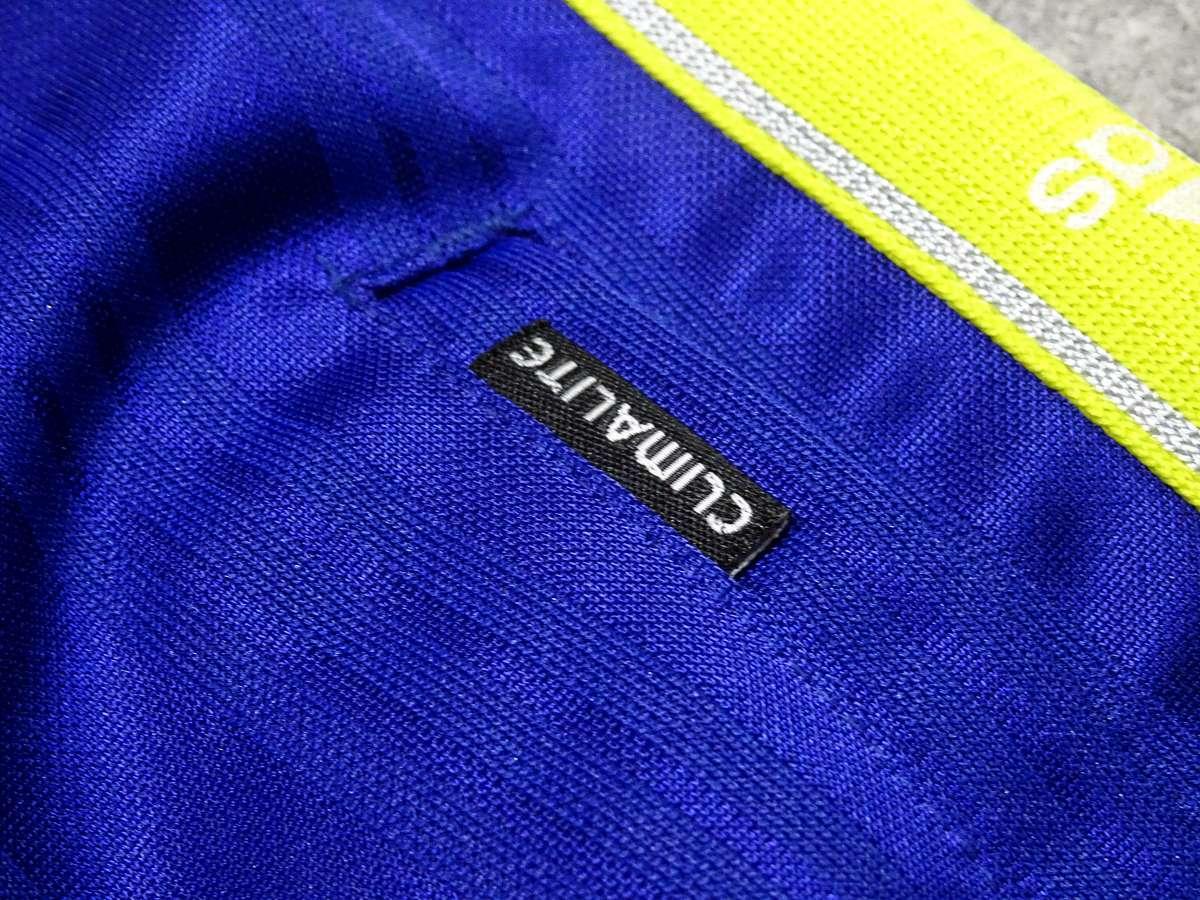 アディダス adidas - サッカー フットサル USED美品 ボトムス ジャージ - SIZE:150 カラー:青系 高機能高デザイン_画像6