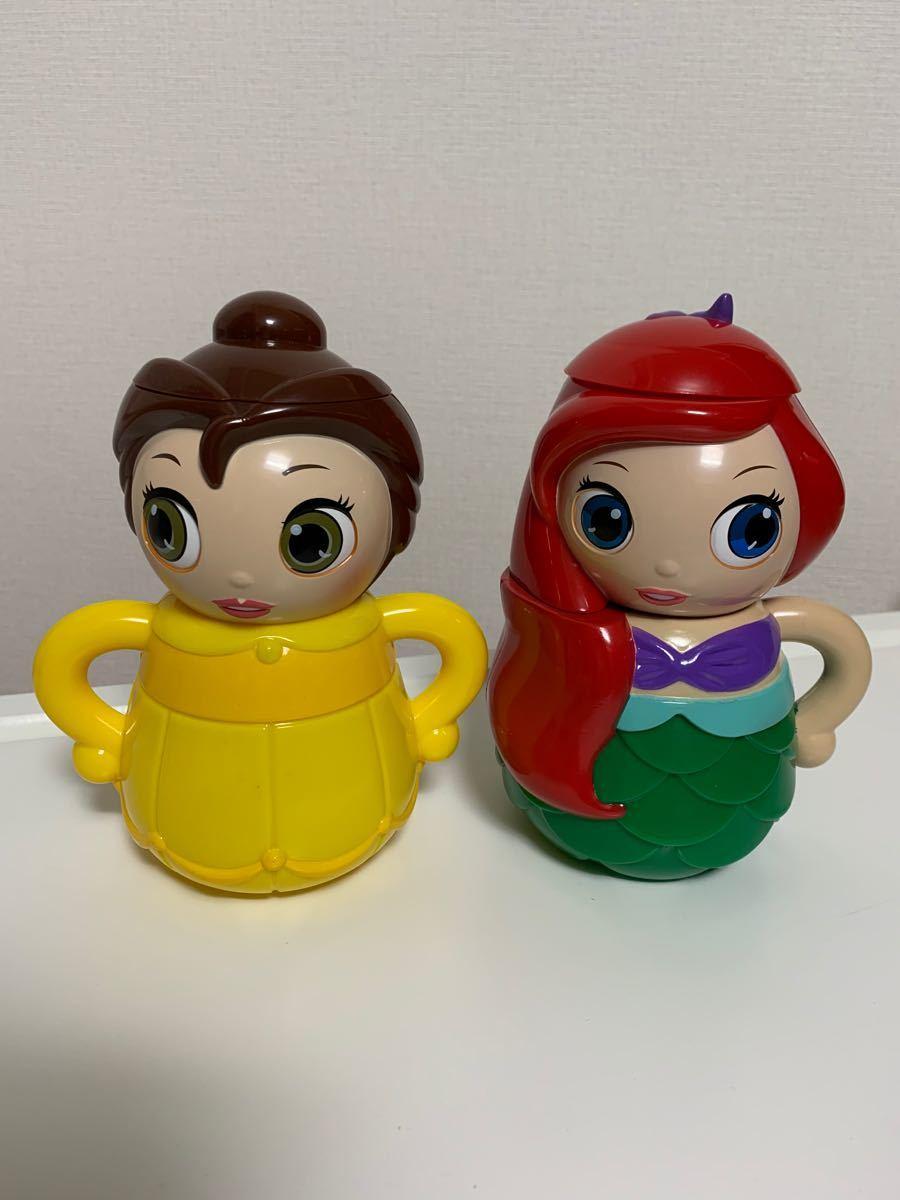 ディズニー プリンセス ティーセット アリエル ベル 美女と野獣 ティーカップ おままごと