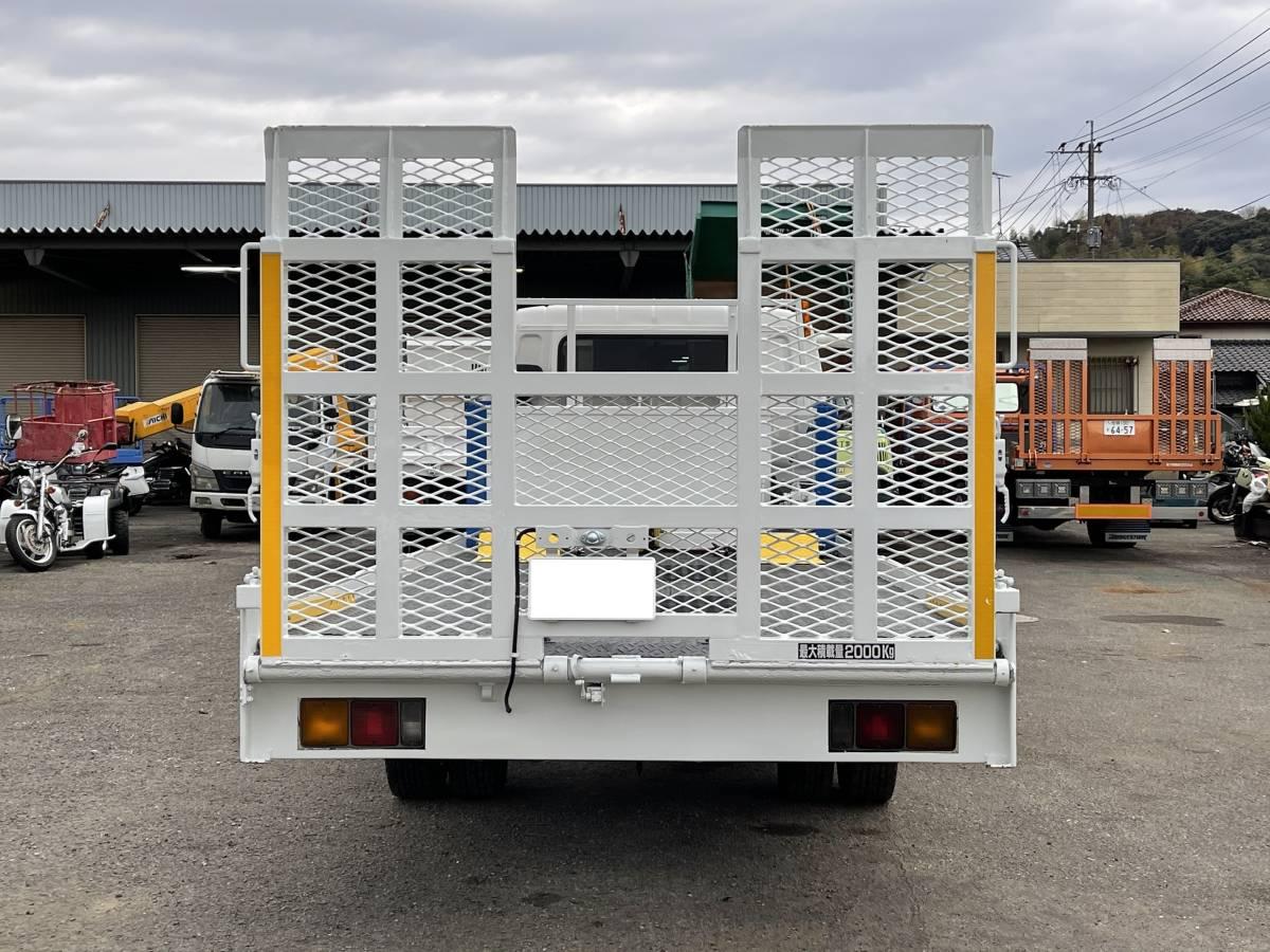 「動画有!売り切り!美車!H8年 三菱 キャンター 積載車 ハイジャッキ ウインチ 4.5L ディーゼル 6速!エンジン好調!佐賀福岡」の画像3