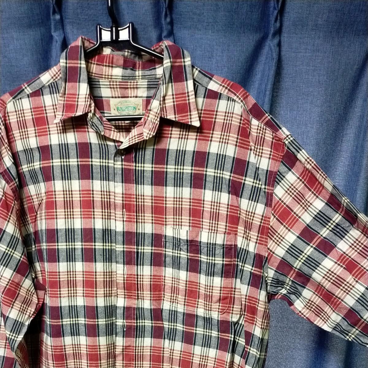 シャツ 長袖シャツ チェックシャツ チェック柄