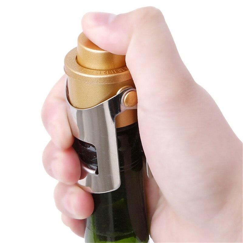 シールボトルキャップワインビールボトルコルクプラグステンレス鋼シャンパンスパークリングストッパーワインボトルストッパーバーツール_画像5