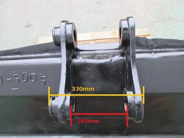 FS61 重機 用 法面バケット ピン径50mm 幅1470mm ユンボ 建設機械 バケット_画像7
