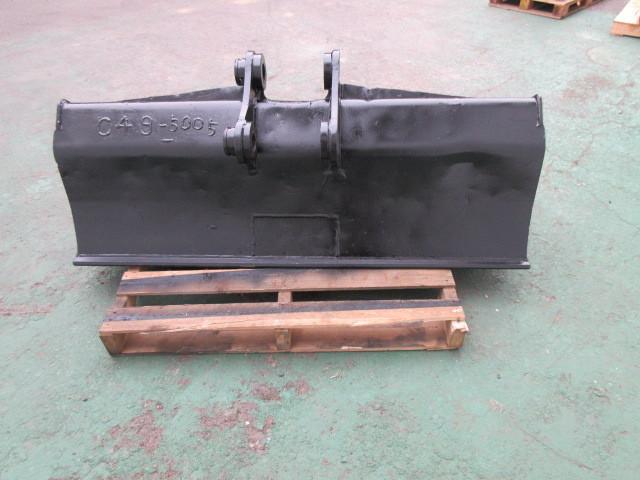 FS61 重機 用 法面バケット ピン径50mm 幅1470mm ユンボ 建設機械 バケット_画像3