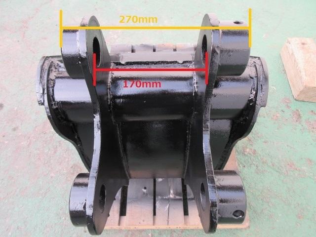 FS60 重機 用 スケルトンバケット ピン径45mm 幅440mm ユンボ 建設機械_画像8