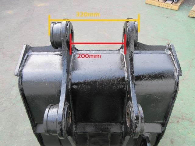 FS55 重機 用 バケット ピン径50mm 幅650mm ユンボ 建設機械_画像9