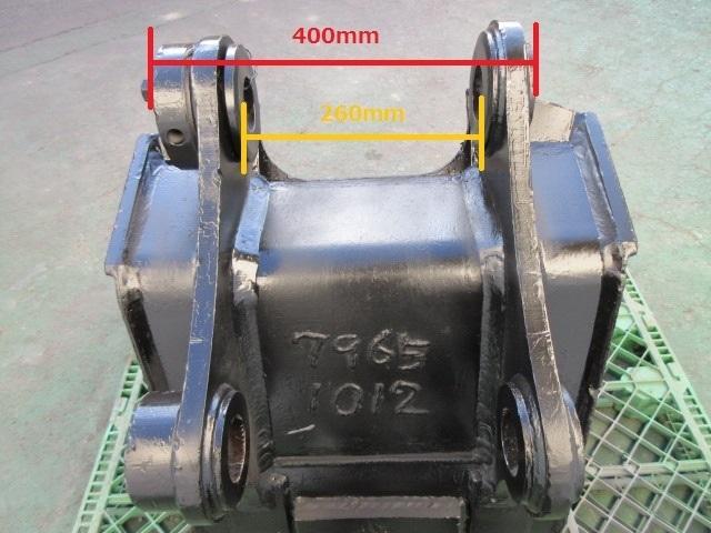 FS65 重機 用 バケット ピン径60mm 幅590mm ユンボ 建設機械_画像8