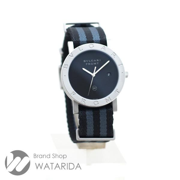 ブルガリ 腕時計 ブルガリ・ブルガリ フラグメントデザイン 103443 FRAGMENT x BVLGARI 箱・替えベルト付 未使用品 送料無料_画像3