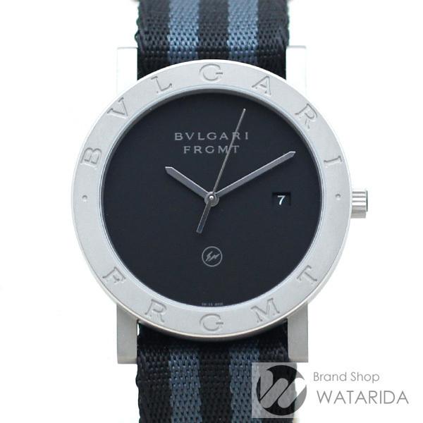 ブルガリ 腕時計 ブルガリ・ブルガリ フラグメントデザイン 103443 FRAGMENT x BVLGARI 箱・替えベルト付 未使用品 送料無料_画像1