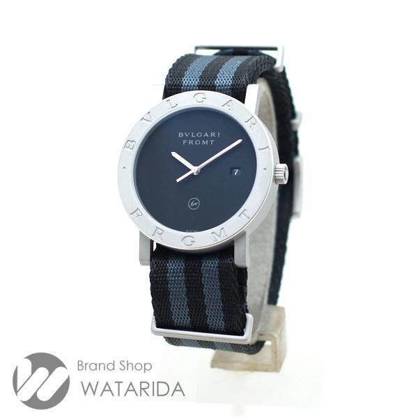 ブルガリ 腕時計 ブルガリ・ブルガリ フラグメントデザイン 103443 FRAGMENT x BVLGARI 箱・替えベルト付 未使用品 送料無料_画像2