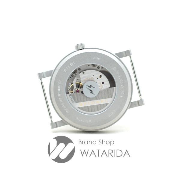 ブルガリ 腕時計 ブルガリ・ブルガリ フラグメントデザイン 103443 FRAGMENT x BVLGARI 箱・替えベルト付 未使用品 送料無料_画像5