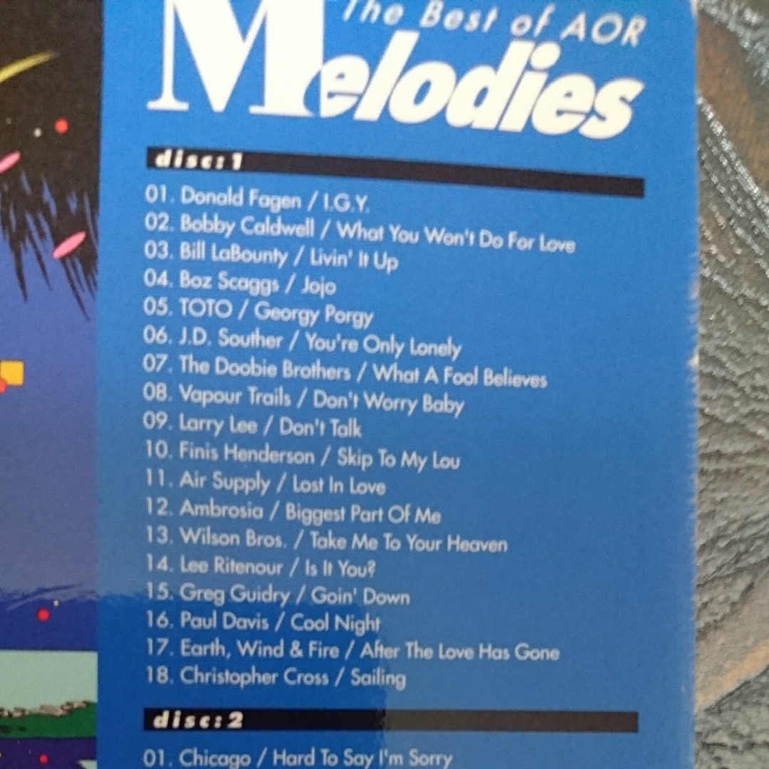 Melodies / The Best of AOR  2枚組
