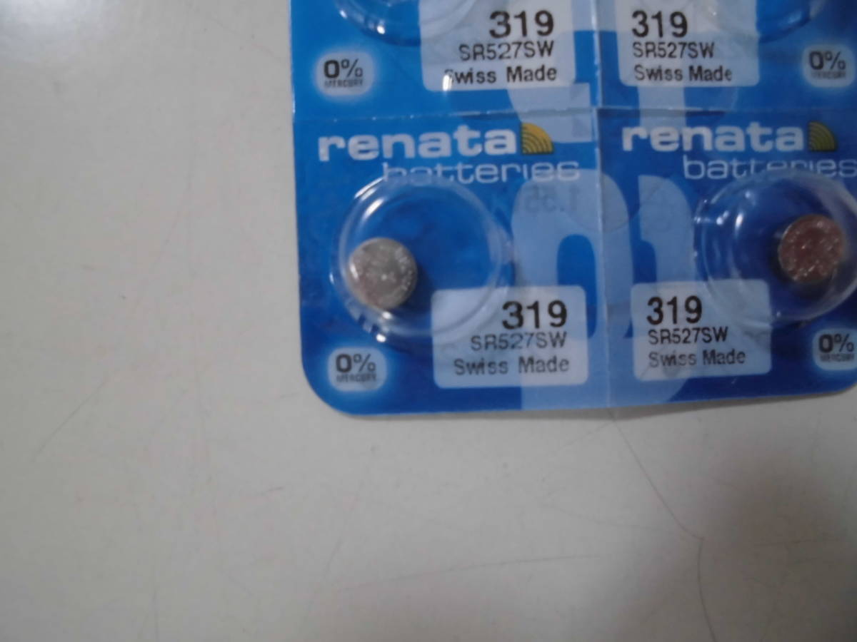 ◎1個☆レナタ電池SR527SW(319)使用推奨12-2022追加有A◎まとめて取引選択(3種類落札)で送料無料◎★得々セール ◎送料63円_画像1