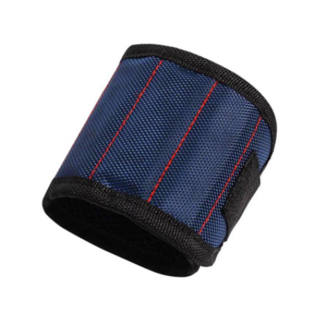 Mz3278:オックスフォード布 磁気ブレスレット 磁気リストバンドポケットツール ベルトポーチバッグ ネジ保持 作業ヘルパー_画像4