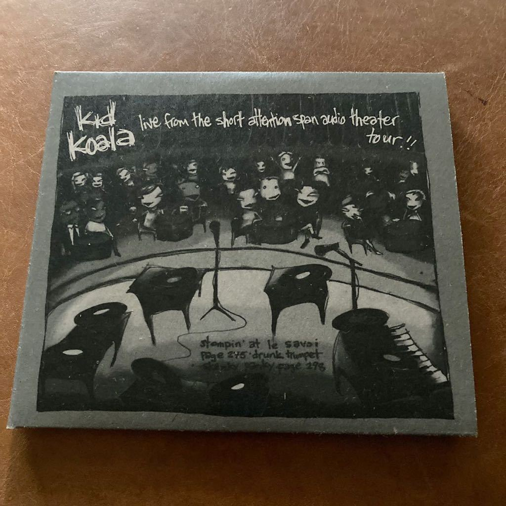 (CD+DVD) Kid Koala / Live From The Short Attention Span Audio Theater Tour / 輸入盤 Ninja Tune