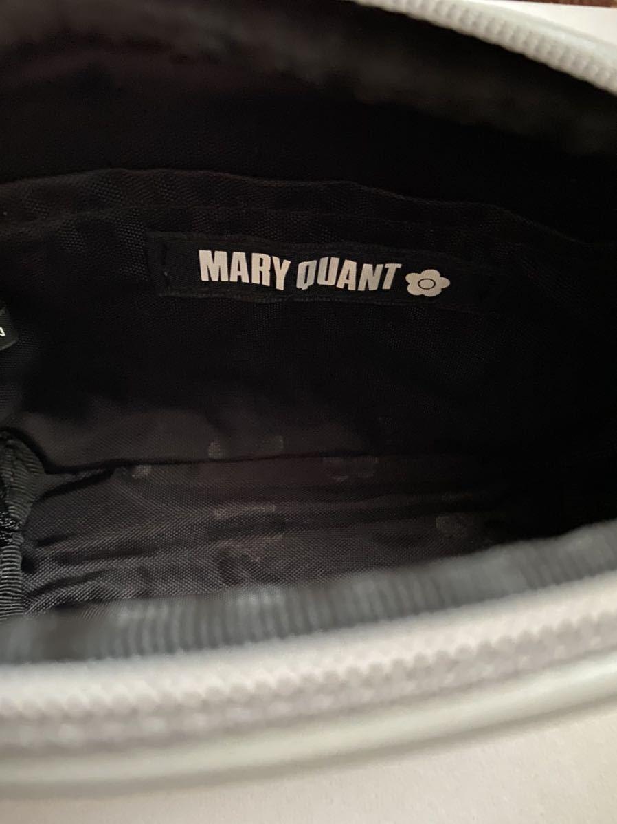 新品タグ付き MARY QUANT マリークワント ポーチ ツイード デイジー 化粧ポーチ バニティ メイクポーチ マリークアント